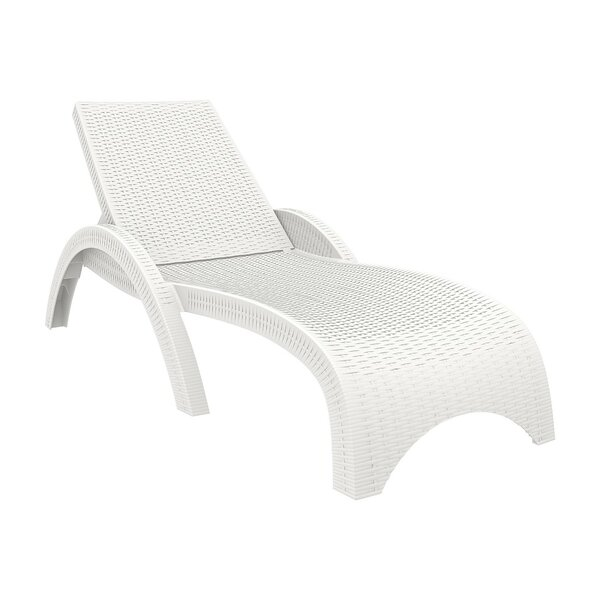 Kassiopeia Sun Reclining Chaise Lounge (Set of 2) by Mercury Row Mercury Row