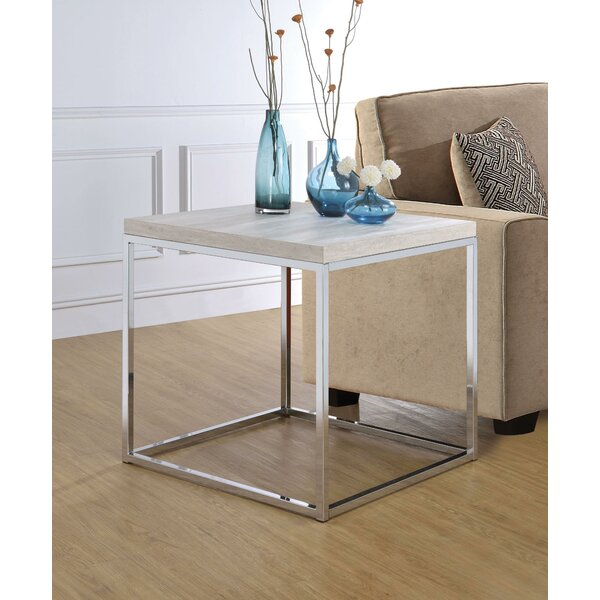 Hibbell End Table By Orren Ellis