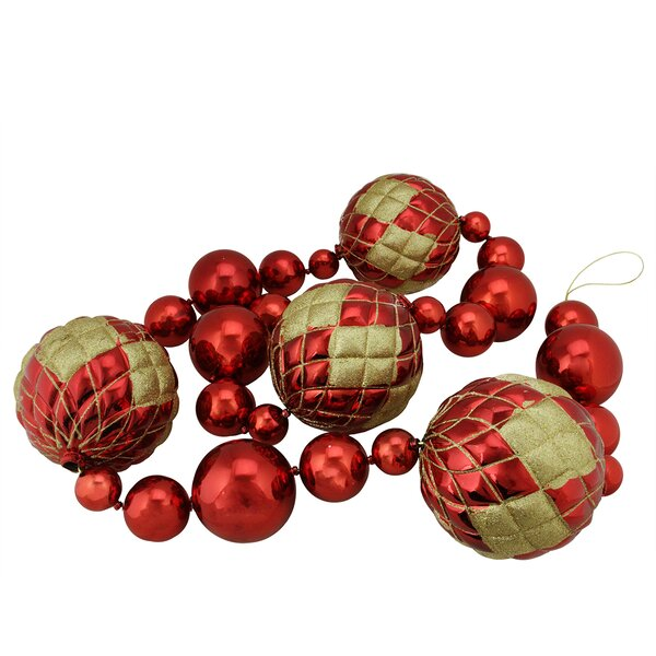 Shatterproof Christmas Orb Garland by The Holiday Aisle