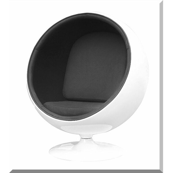 Kaplan Swivel Balloon Chair by Orren Ellis