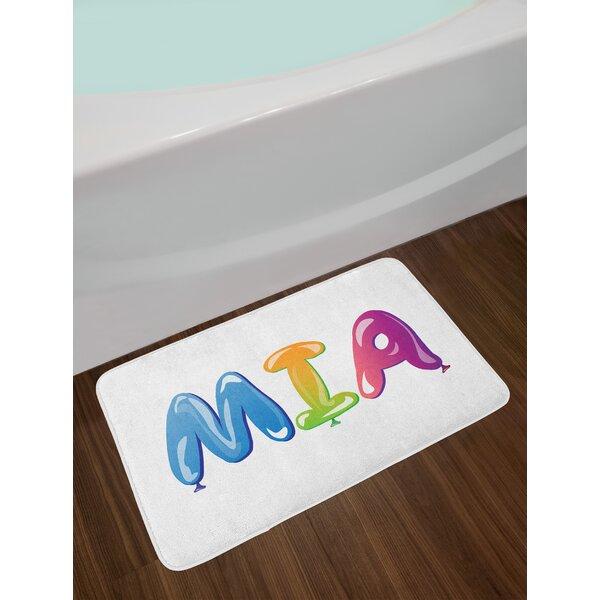 Female Mia Bath Rug by East Urban Home