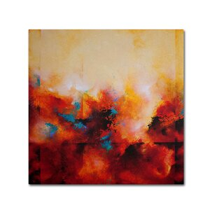 'Light Strides' Painting Print on Wrapped Canvas by Trademark Global