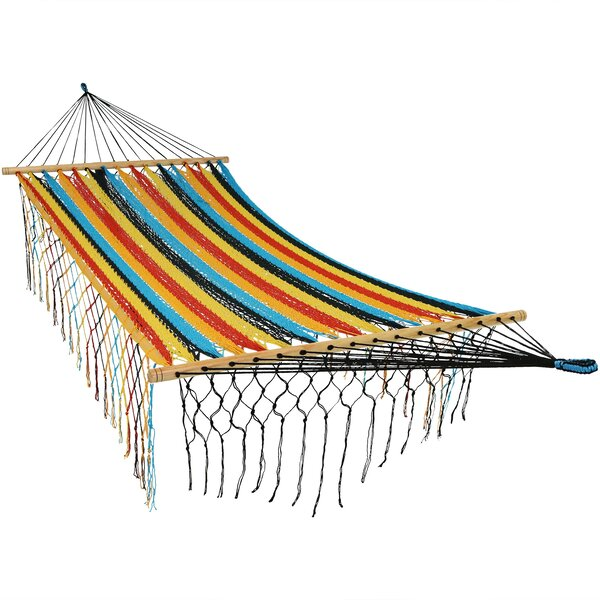 Damiane Cotton Tree Hammock by Highland Dunes