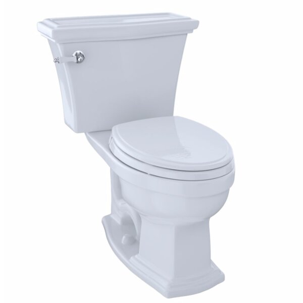 Clayton 1.6 GPF Elongated Two-Piece Toilet by Toto