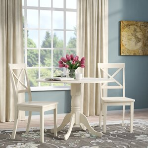 Abrahamic 3 Piece Dining Set by Andover Mills
