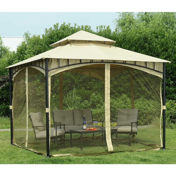Replacement Mosquito Netting for Gardena Gazebo by Sunjoy