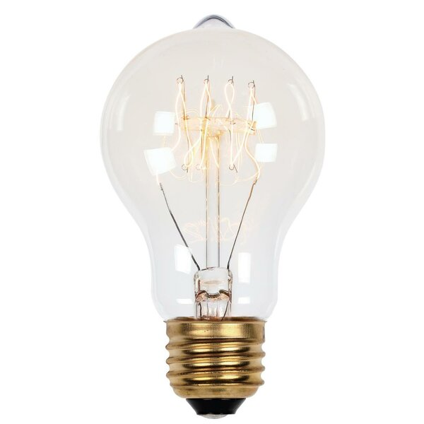 A19 Incandescent, Light Bulb, Soft White (2450K) E26/Medium (Standard) Base by Westinghouse Lighting