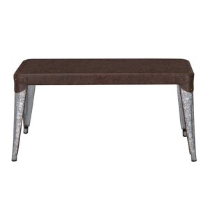 Metal Bench (Set of 2) by Adeco Trading