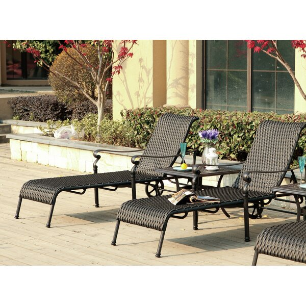 Kentland 3 Piece Chaise Lounge Set by Darby Home Co