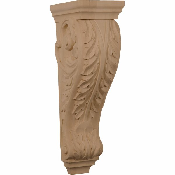 Acanthus 22H x 6 1/2W x 8D Pilaster Corbel by Ekena Millwork