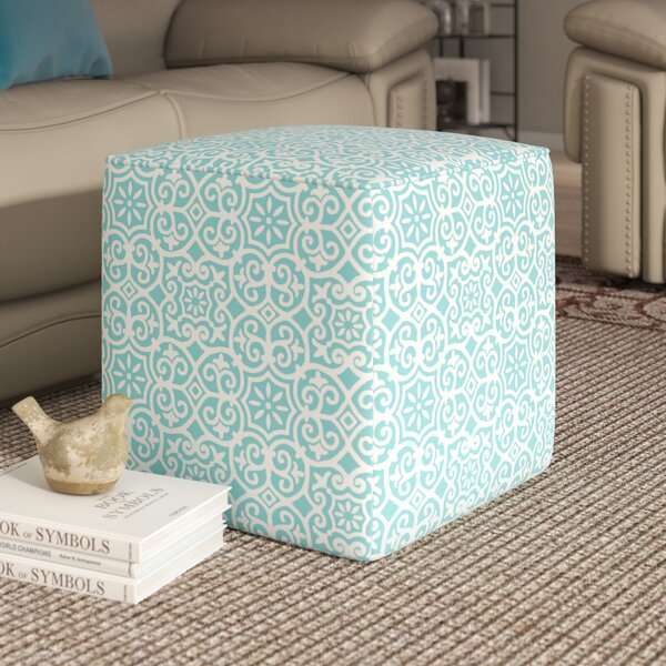 Callery Fretwork Pouf by Andover Mills