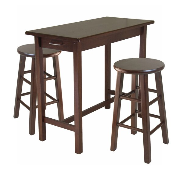 3 Piece Breakfast Dining Set by Winsome