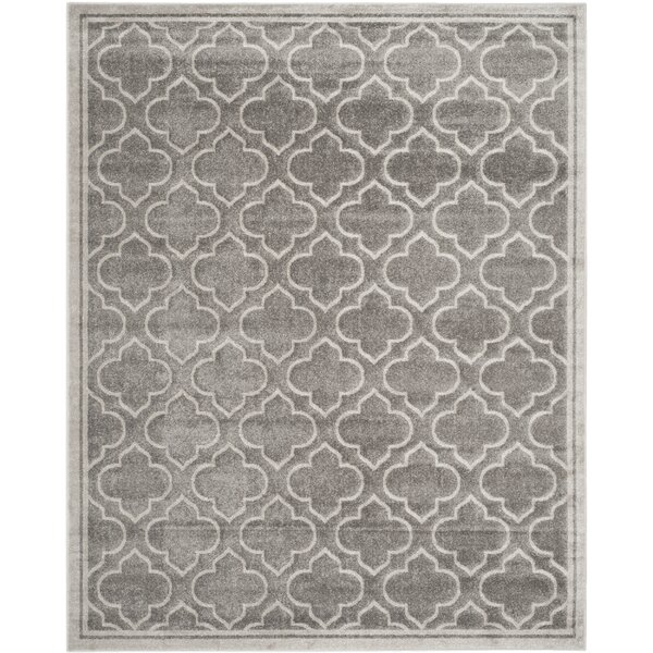 Maritza Gray Indoor/Outdoor Area Rug by Willa Arlo Interiors