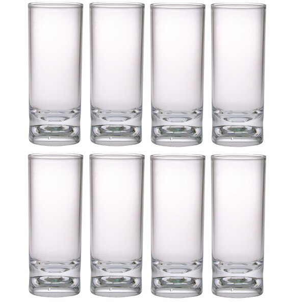2 oz. Plastic Shot Glass (Set of 8) by Chenco Inc.