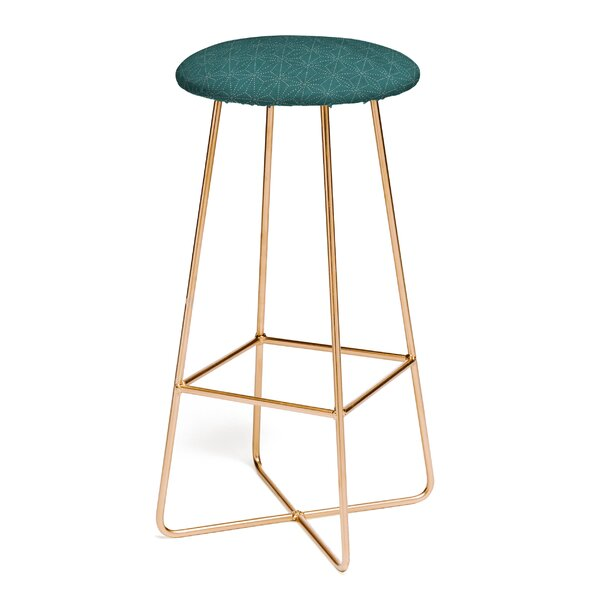 Holli Zollinger Shiko Marine 30 Bar Stool by East Urban Home