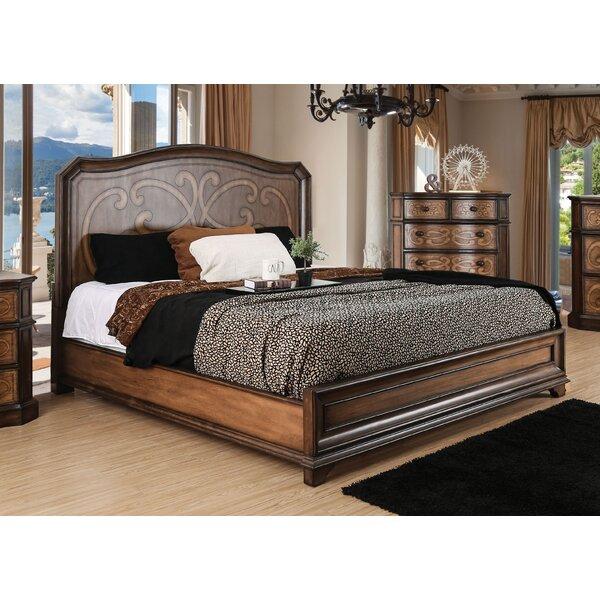 Barrington Transitional Panel Bed by Fleur De Lis Living