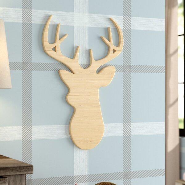 Elvia Deer Head Decorative Plaque by Viv + Rae