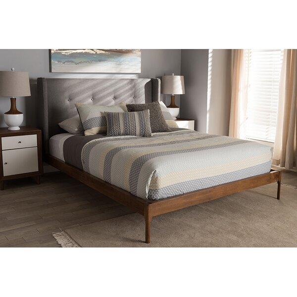 Benefiel Upholstered Platform Bed by George Oliver