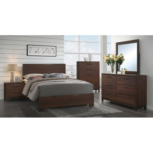 Jeffries Standard 2 Piece Bedroom Set By Union Rustic by Union Rustic Best