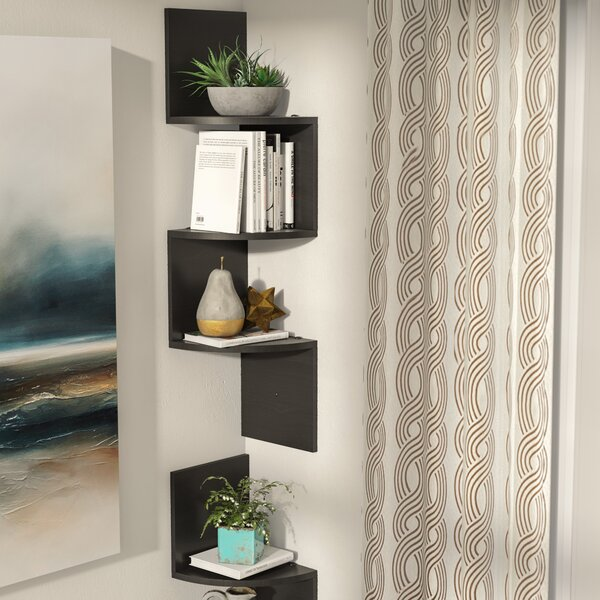 Langdon 3 Wall Shelf Set (Set of 2) by Ebern Designs