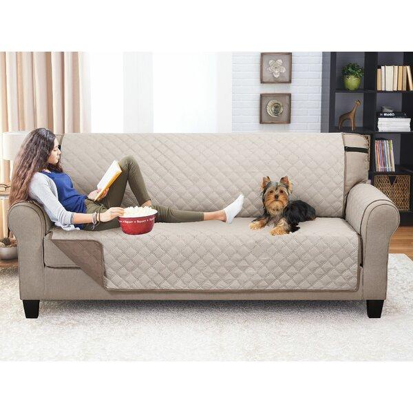 Box Cushion Sofa Slipcover By Red Barrel Studio