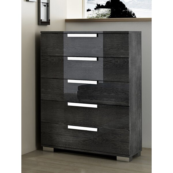 Thurner 5 Drawers Chest by Wrought Studio