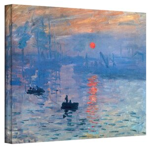 Sunrise Painting Print on Canvas by Alcott Hill