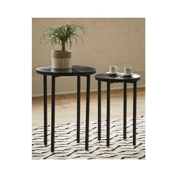 Frerichs 2 Piece Nesting Tables By Union Rustic