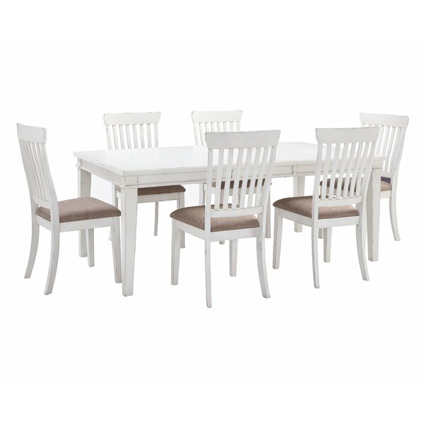 Milla 7 Piece Extendable Dining Set by Alcott Hill