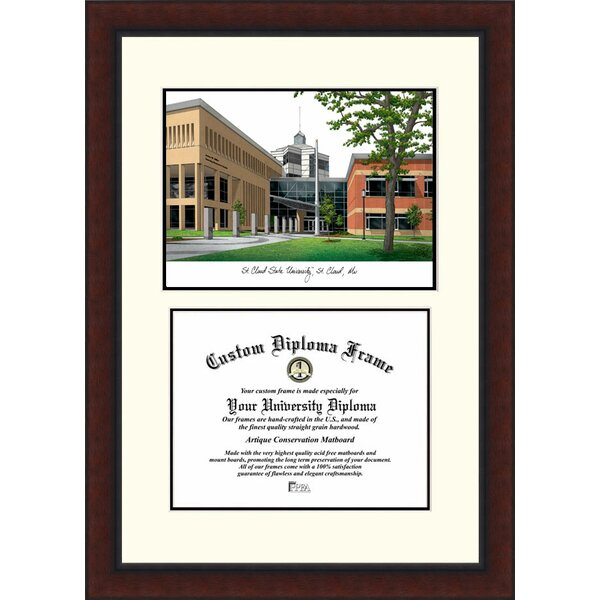 NCAA Saint Cloud State Legacy Scholar Diploma Picture Frame by Campus Images