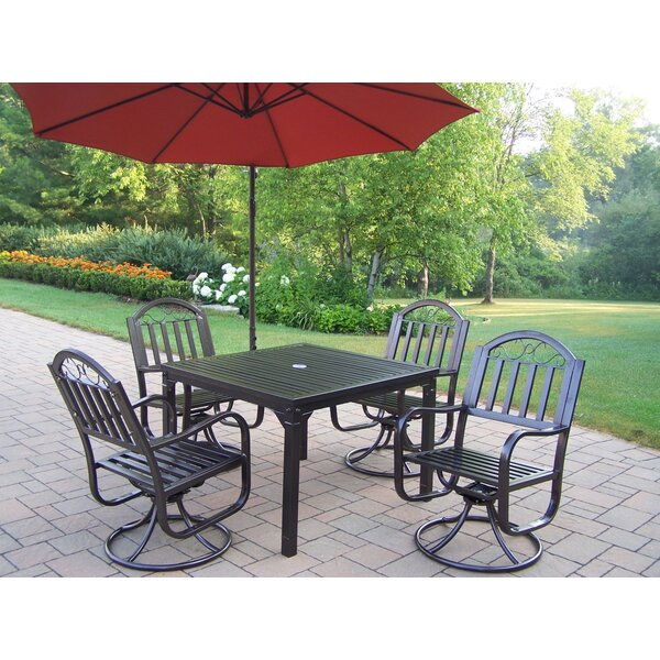 Lisabeth 5 Piece Dining Set by Red Barrel Studio