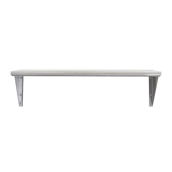 Mccray Solid Stainless-Steel Commercial Wall Shelf by Orren Ellis