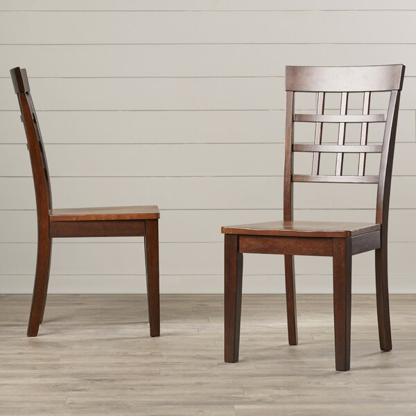 Dixon Gridback Side Chair (Set of 2) by Red Barrel Studio