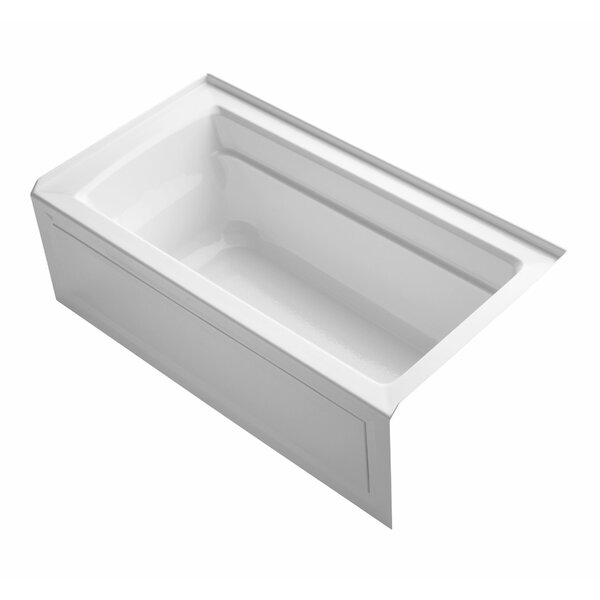 Archer 60 x 32 Alcove Soaking Bathtub by Kohler