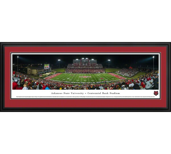 NCAA Arkansas State University Framed Photographic Print by Blakeway Worldwide Panoramas, Inc