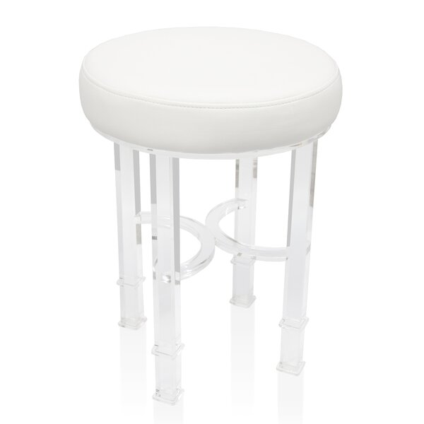 Urban Modern Acrylic Stool by Wildon Home ®
