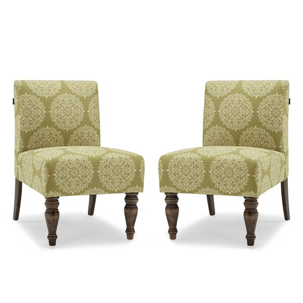 Craner Slipper Chair (Set of 2) by Charlton Home