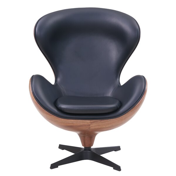 Dever Swivel Balloon Chair by 17 Stories
