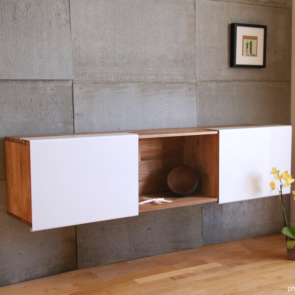 LAXseries Wall Mounted Standard Bookcase By Mash Studios