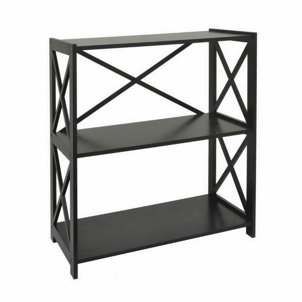 Merseles Wood Etagere Shelf by August Grove
