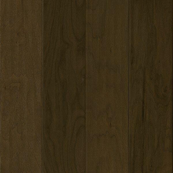 American Scrape 5-3/4 Engineered Walnut Hardwood Flooring in Dark of Midnight by Armstrong Flooring