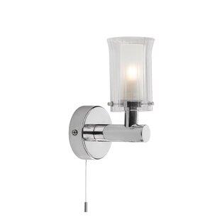 Bathroom wall lights wayfair elba 1 light wall light aloadofball Images