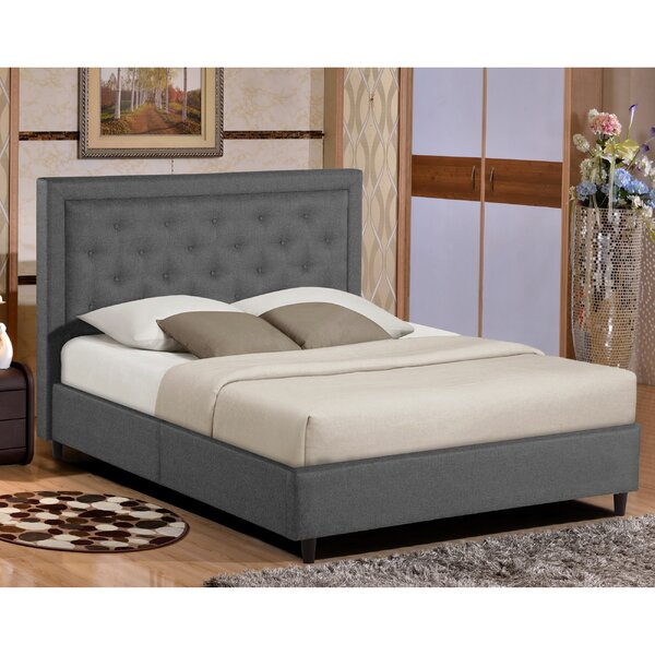 Merriam Queen Upholstered Platform Bed by Alcott Hill