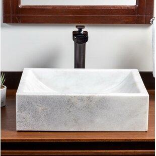 Affordable Mar Stone Rectangular Vessel Bathroom Sink ByLaguna Marble