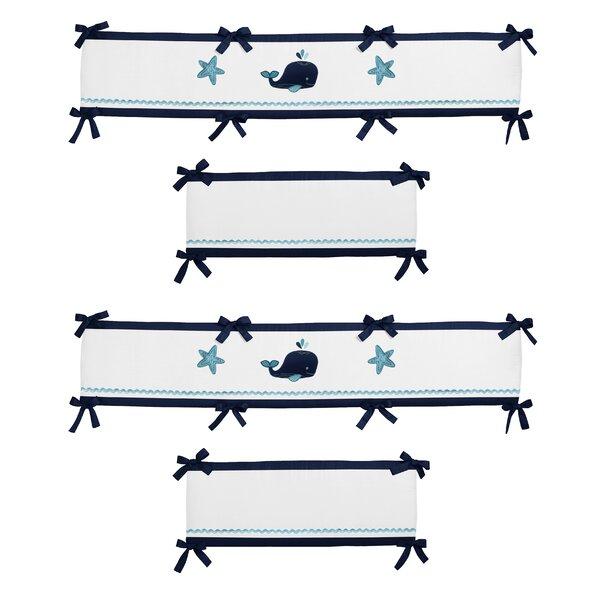 Whale Crib Bumper by Sweet Jojo Designs