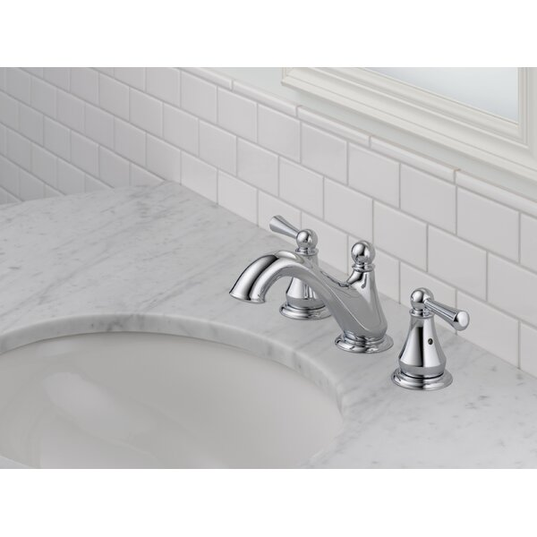 Haywood Widespread Bathroom Faucet by Delta