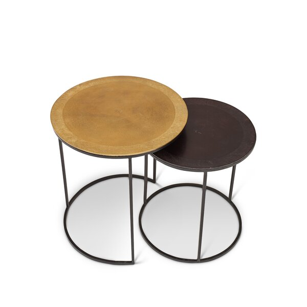Duluth 2 Piece Nesting Tables by Foundry Select