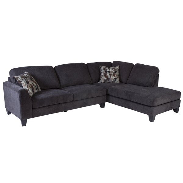 Williar Right Hand Facing Transitional Sectional By Loon Peak