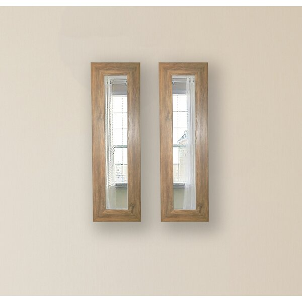 2 Piece Pierpont Panels Mirror Set (Set of 2) by Gracie Oaks