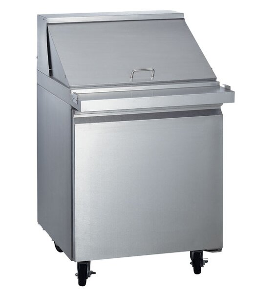 Commercial Food Prepare Table 5.6 cu. ft. Energy Star Counter Depth All-Refrigerator by EQ Kitchen Line